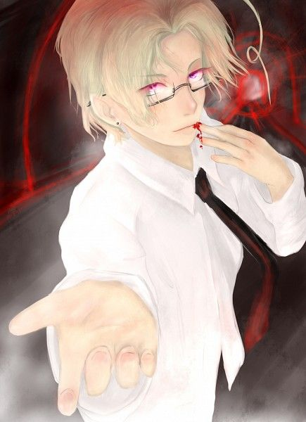 Hetalia ~~~ Canada ...we love you, but PLEASE be more careful with your kitchen knives!