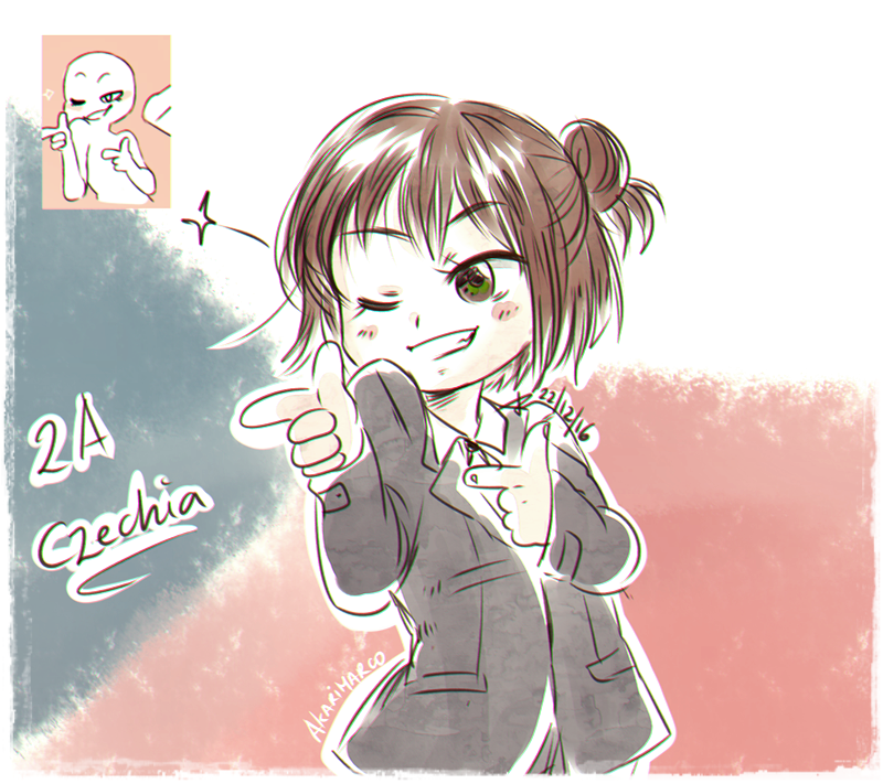 Sketch! Expression Challenge Czechia by AkariMarco.deviantart.com on @DeviantArt