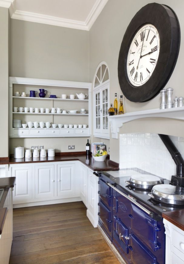 For A Sophisticated Elegant Kitchen Try Myland S Egyptian Grey Paint Colour