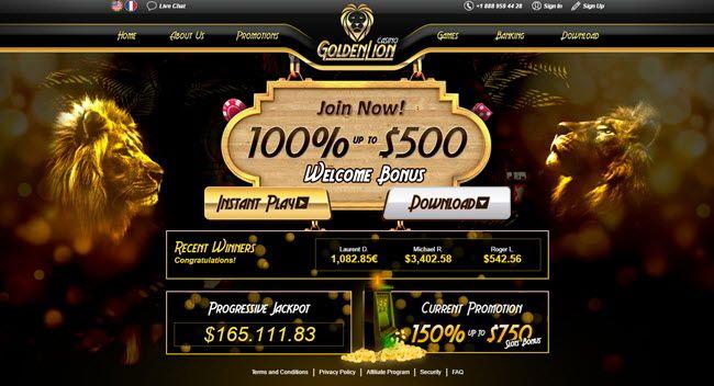Golden Lion Casino No Deposit Bonus Codes