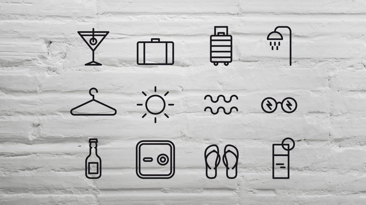 Newsletters H10 hotels icons | toormix