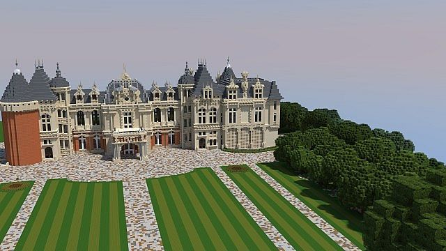 Waddesdon Manor Minecraft Project