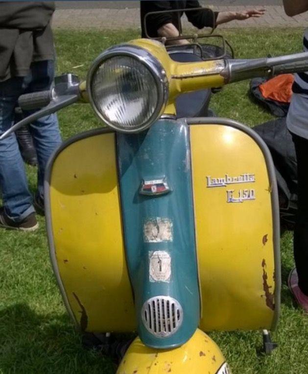 Lambretta años 50's 60's