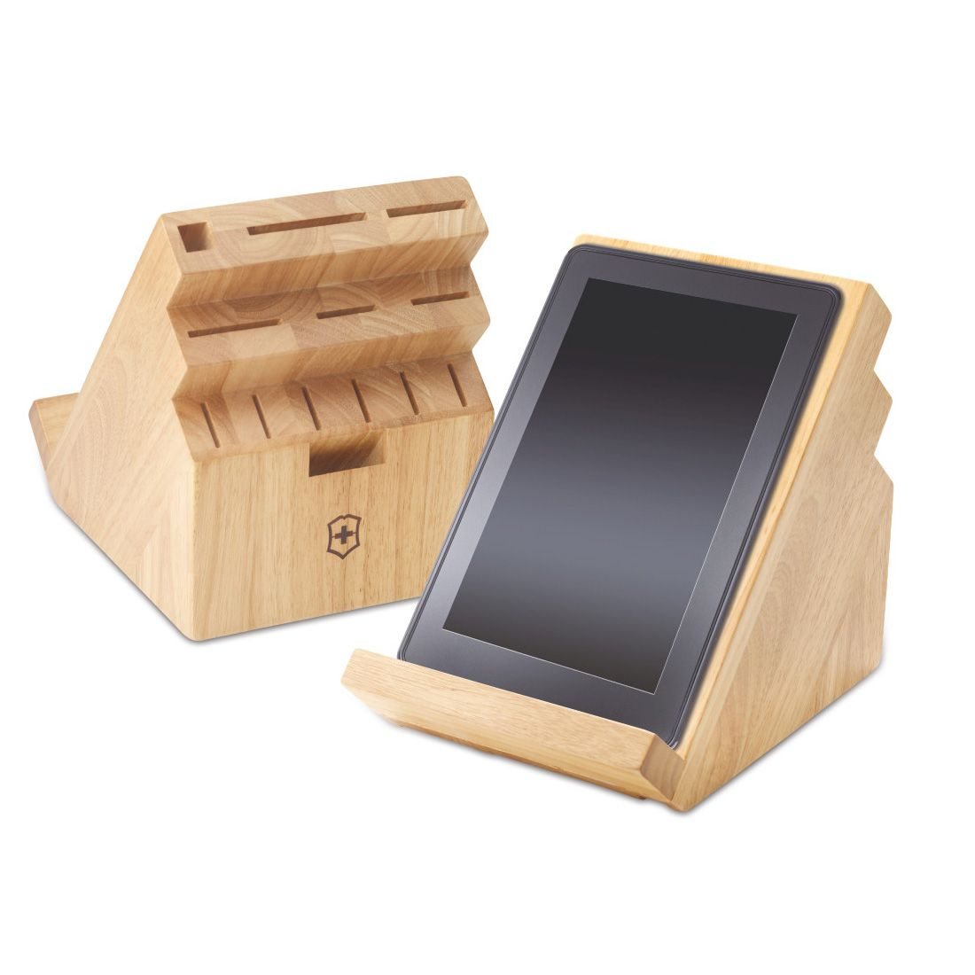 Tablet Halter Kuche Victorinox Swivel Knife Block Ipad Stand Messerblock