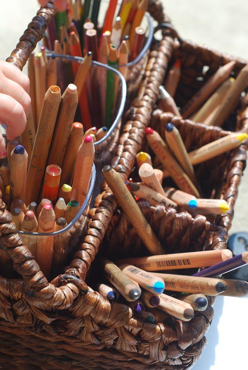 Canasto para lápices