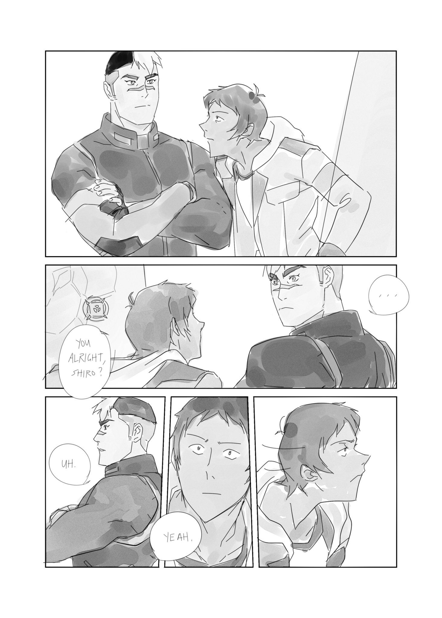 mer в Твиттере: «lance and shiro #voltron https://t.co/0muq5mpiFm»