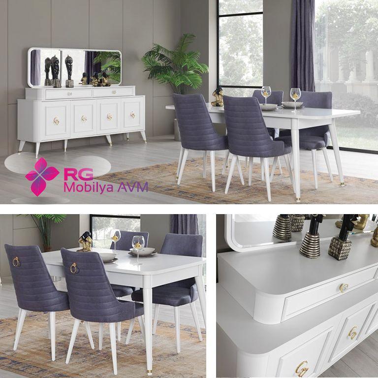 Hem modern hem klasik çizgiler bir arada. Her bütçeye ve her zevke uygun yemek masası, sandalye ve konsollar mağazamızda 🌺.. ☎ 0242 514 43 30 Çevreyolu üzeri Merkez Mah. Tosmur/Alanya #alanya #mobilya #dekorasyon #alanyafurniture #decoration #design #alanyamobilya #konsol #rgmobilya #yemekodasi #mебельalanya