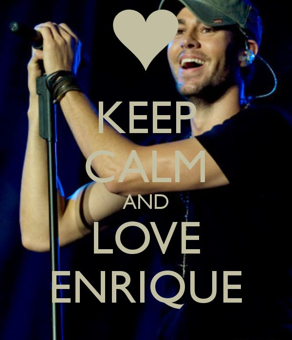Enrique Iglesias OH YES!!!!!!!!!!!!!!