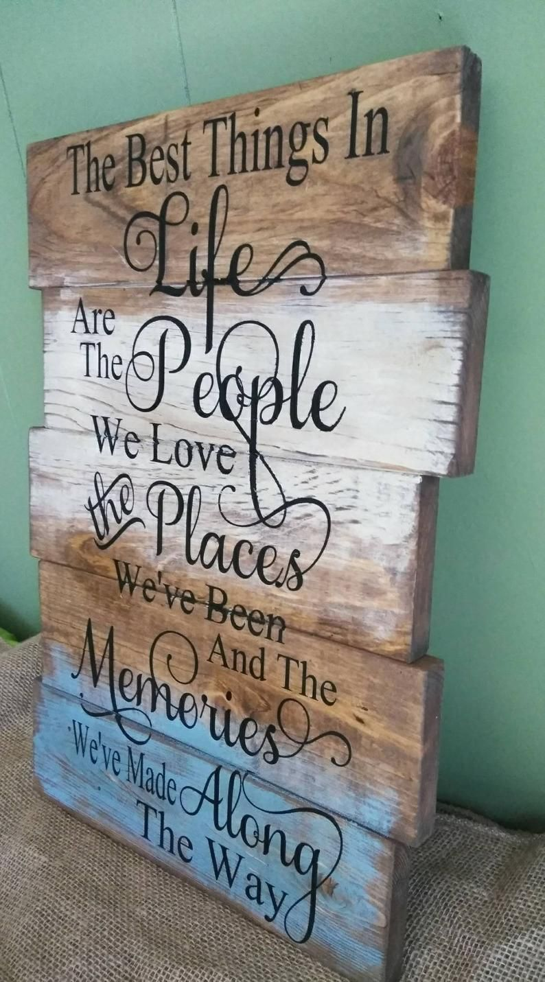 Farmhouse style distressed look wood sign weathered It is well with my soul hand painted pallet board style scripture sign