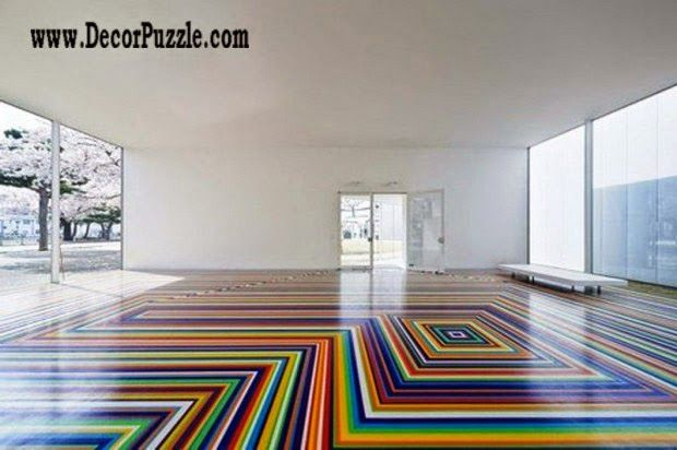 3d Floor Art Pattern And Self-leveling Floor,colorful