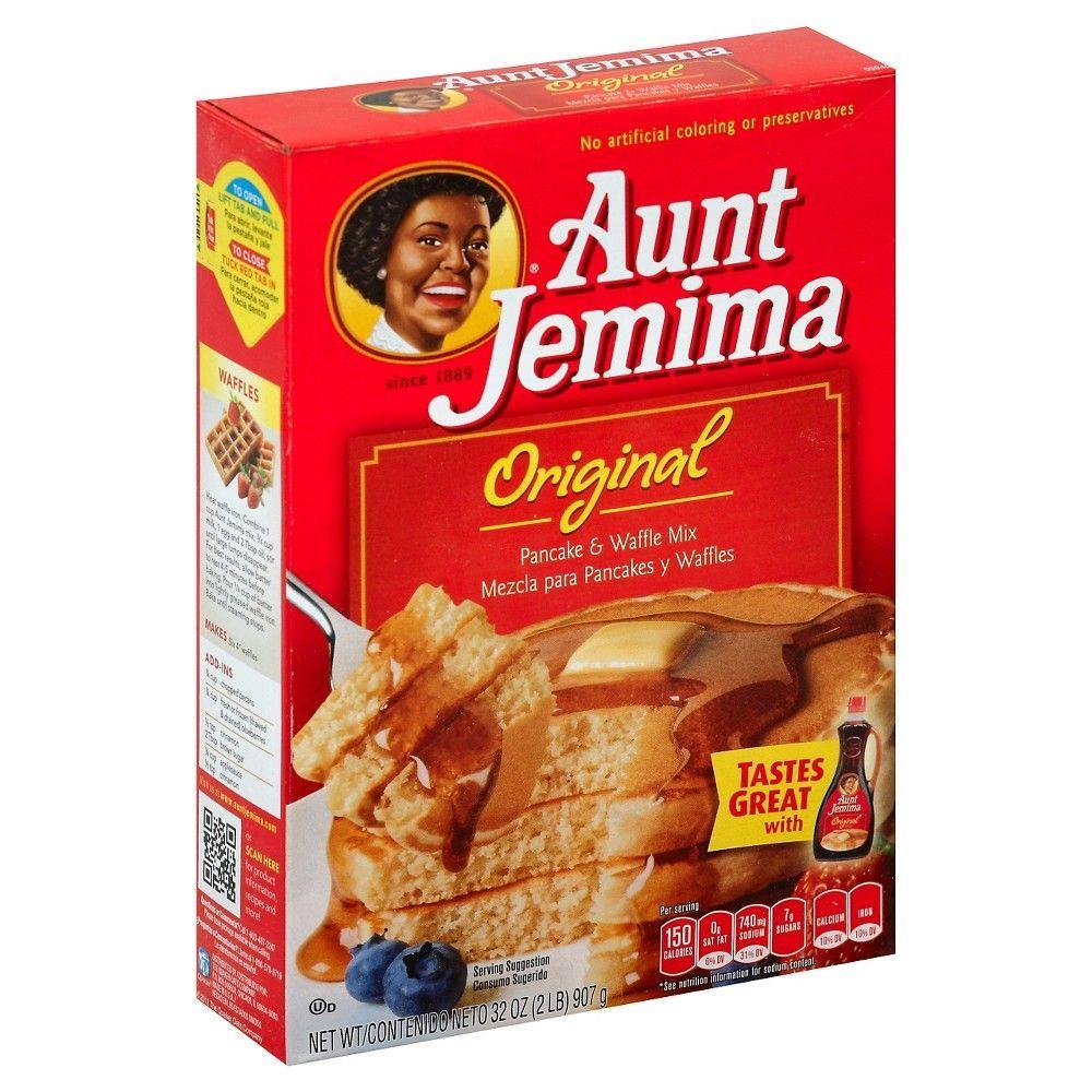 Aunt jemima original pancake waffle mix 32 oz