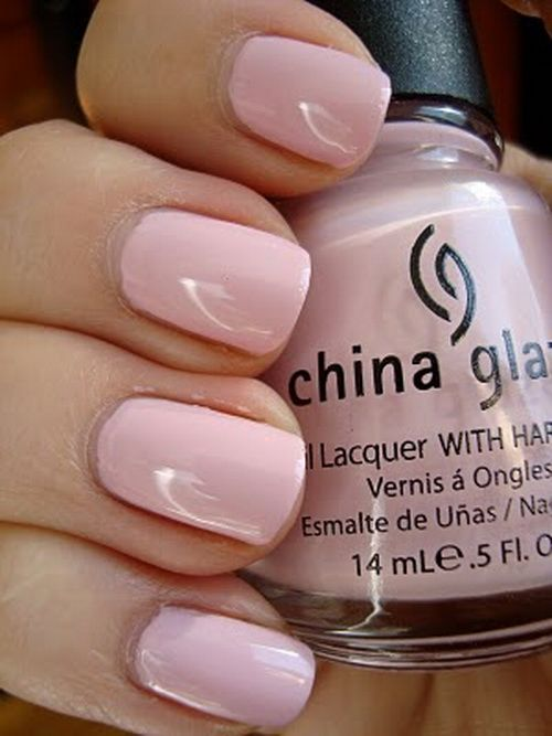 Pink Nail Designs For Short Nails Soft Pink Nail Designs 2014