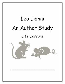 Leo Lionni Author Study Life Lessons Common Core