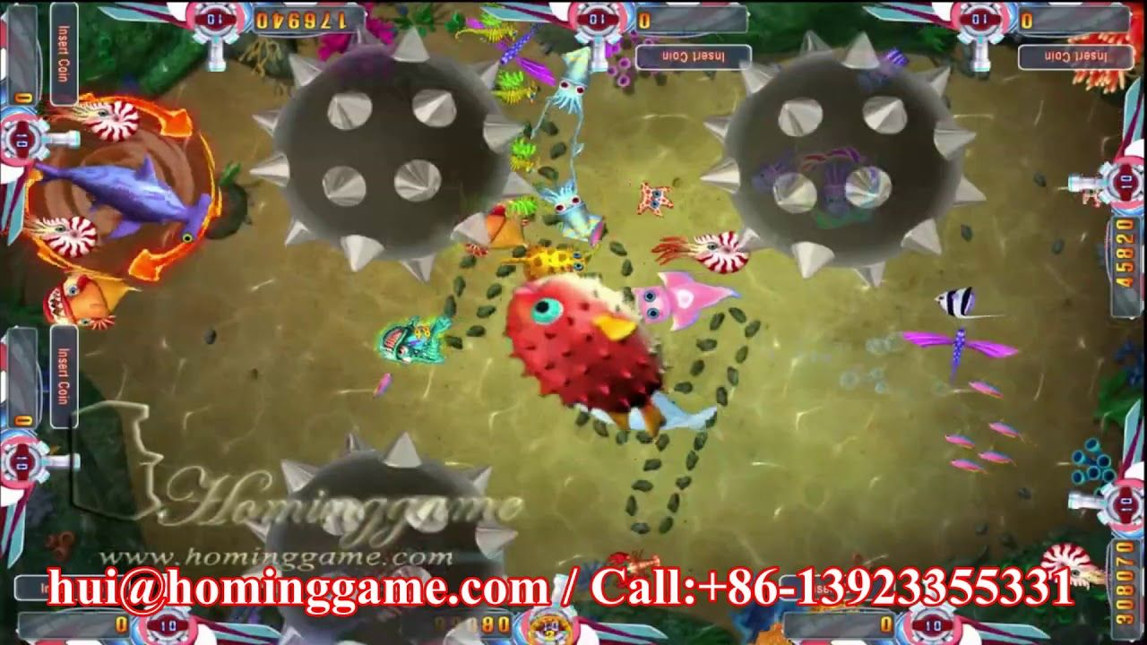 2019 Ocean Paradise Shoot Fish Game Table Gambling Arcade
