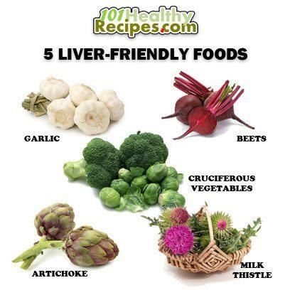 best diet for liver and pancreas