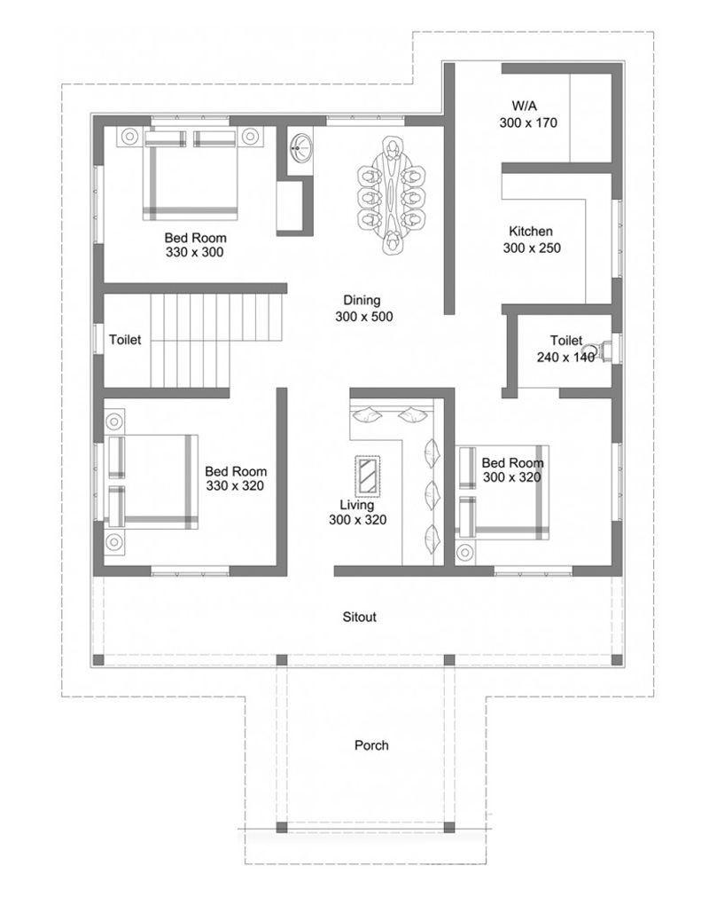Simple House Floor Plans 2021 Denah Rumah Rumah Indah Desain Rumah