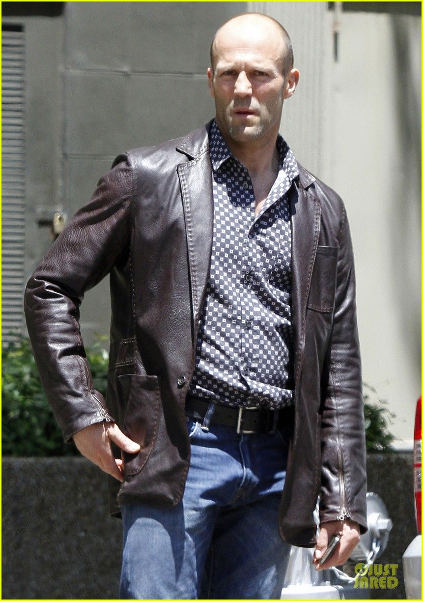 fast and furious 7 jason statham leather jacket. Black Bedroom Furniture Sets. Home Design Ideas