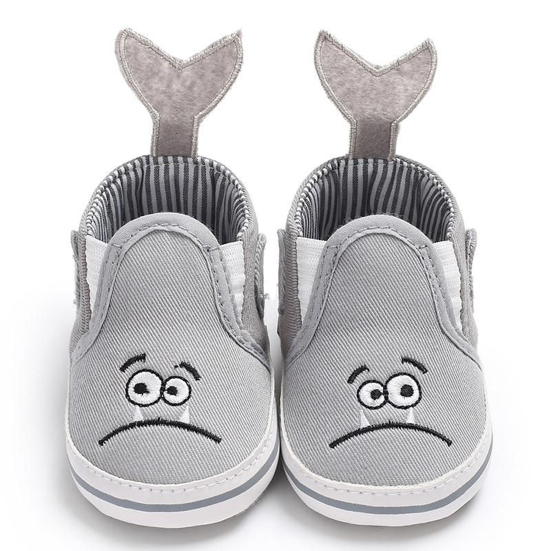 0-12M Baby Boys Girls Casual Soft Cotton Cloth Shoes First Walkers Sneakers UK