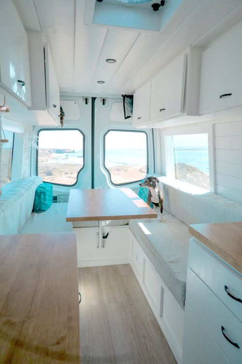 Photo of Custom Crafted Van Conversions Gallery — Sara & Alex James – 40 Hours of Freedom