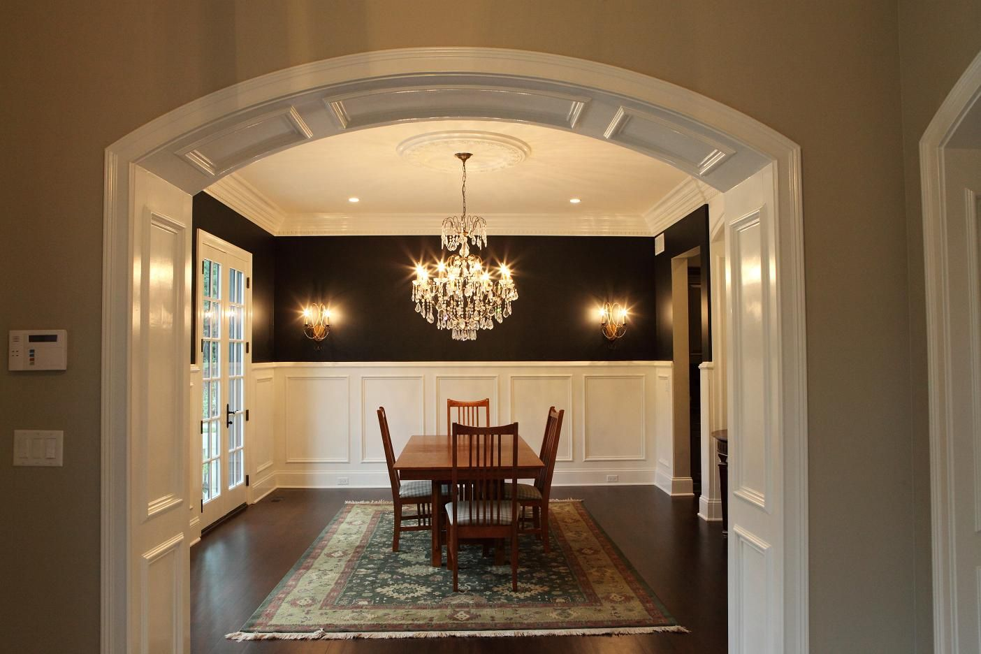 Archway Ideas Interior Arched Openings Photos Top With Panels Consists Of