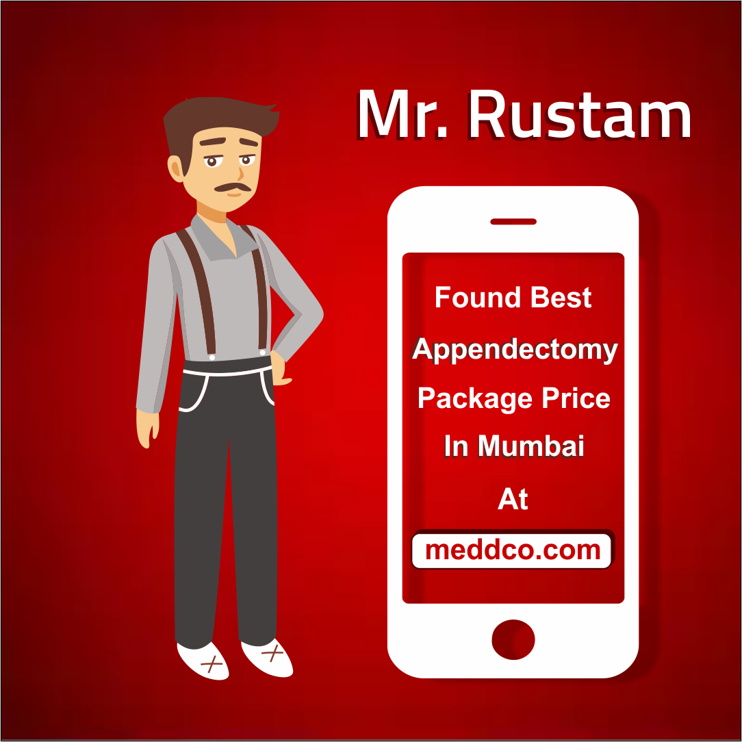 """""""Mr. Rustom found the right hospital with most reasonable"""