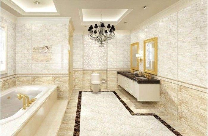 awesome inneneinrichtung badezimmer keramische fliesen römischer ...