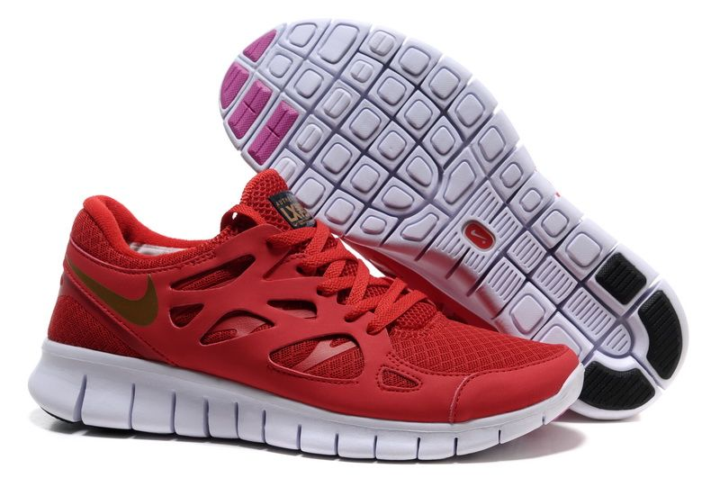 2012 Nike Free Run 2 Men's Shoes Red Gold,frees runs and. Find this Pin and  more on running shoes by runningshoes201. Now Buy ...