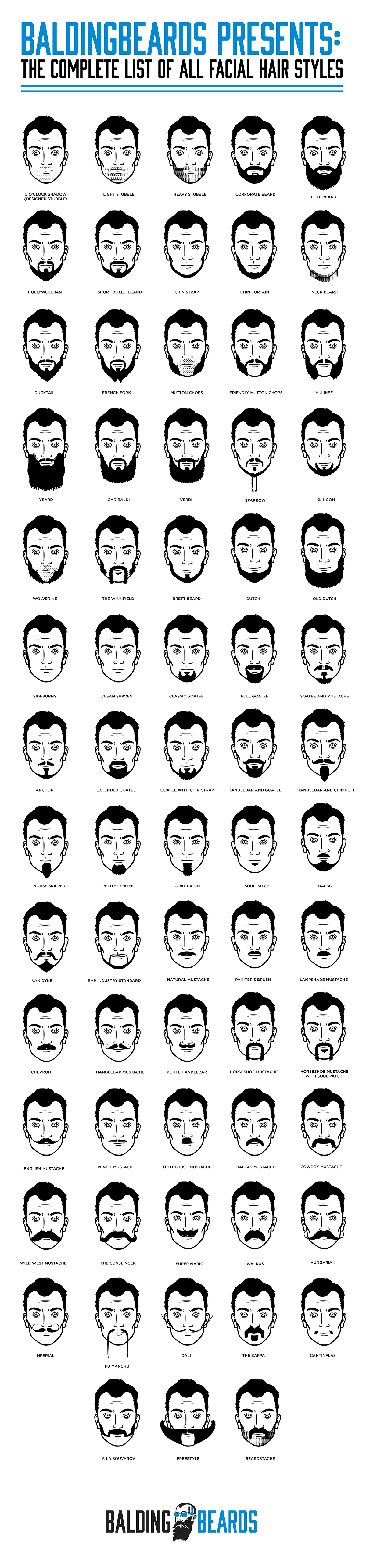 Facial Hair Styles Entrancing 68 Best Facial Hair Styles For Men You Should Try At Least Once
