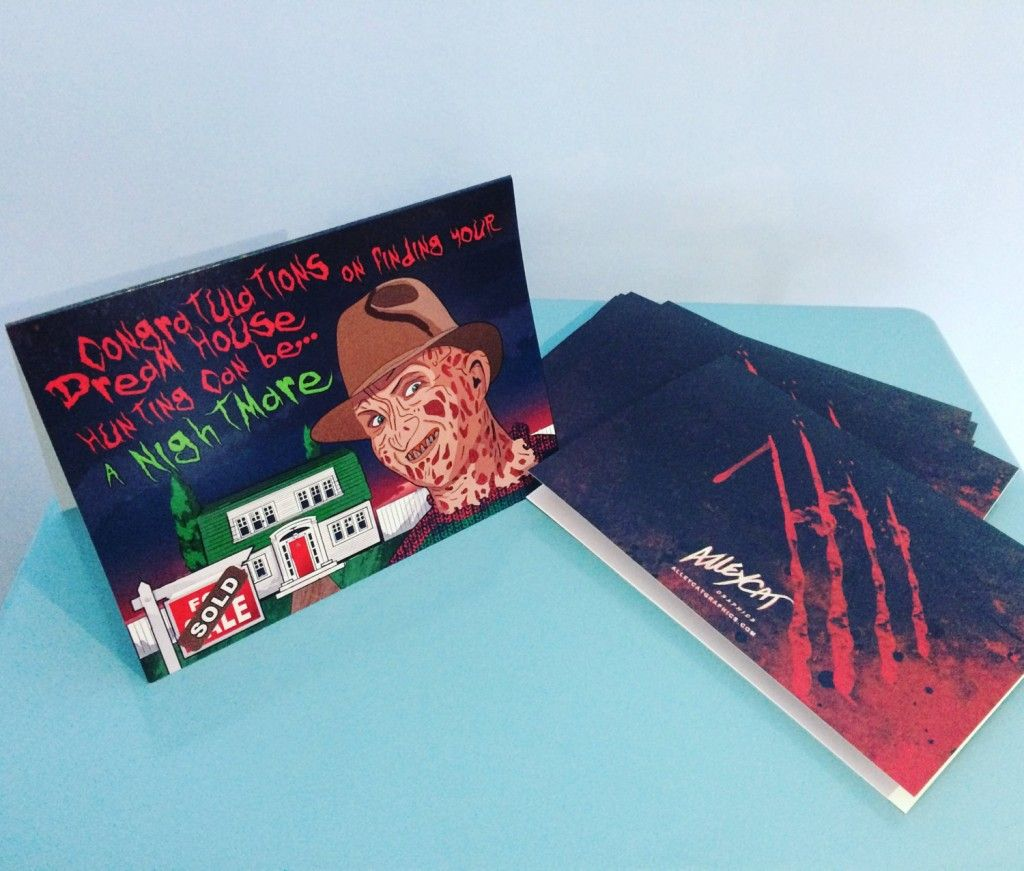 This Indie Designer Has The Perfect Greetings Cards For Horror Fans