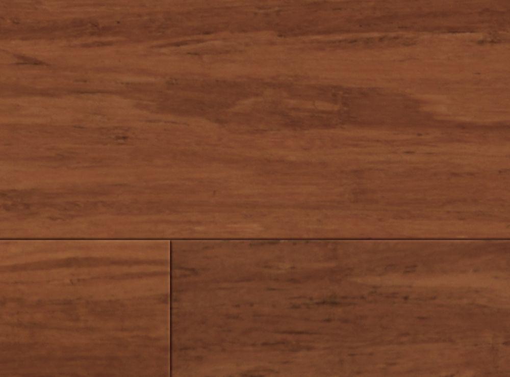 Flooring Option 1 Brushed Amber Bamboo Flooring