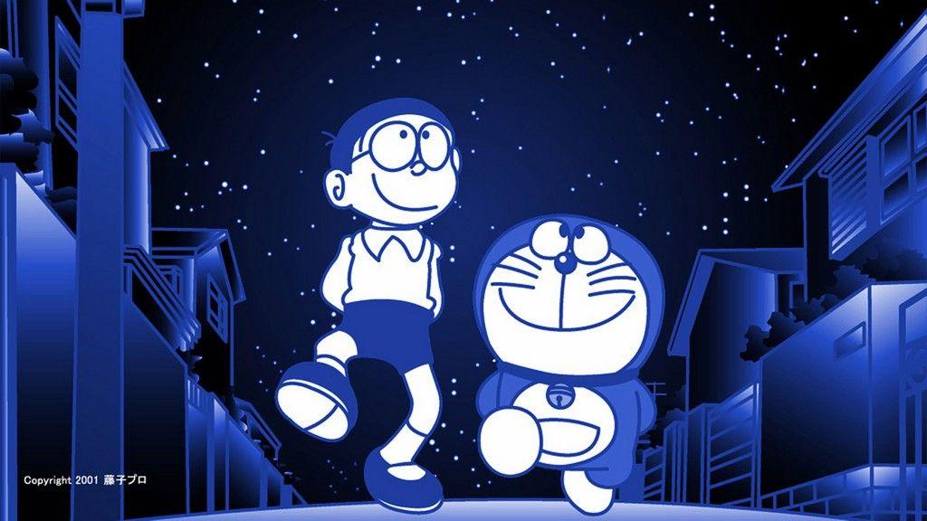 Doraemon Wallpaper Night Gambar Kertas Dinding Grand Theft Auto