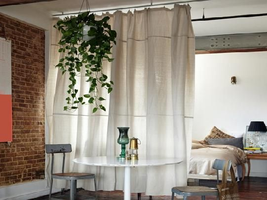 curtain room dividers google search curtain ideas room divider curtain ikea room divider. Black Bedroom Furniture Sets. Home Design Ideas