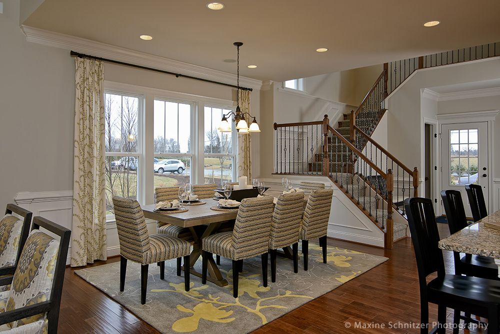 Schnitzer Home Design the belfort dining room maxine schnitzer photography pulte homes