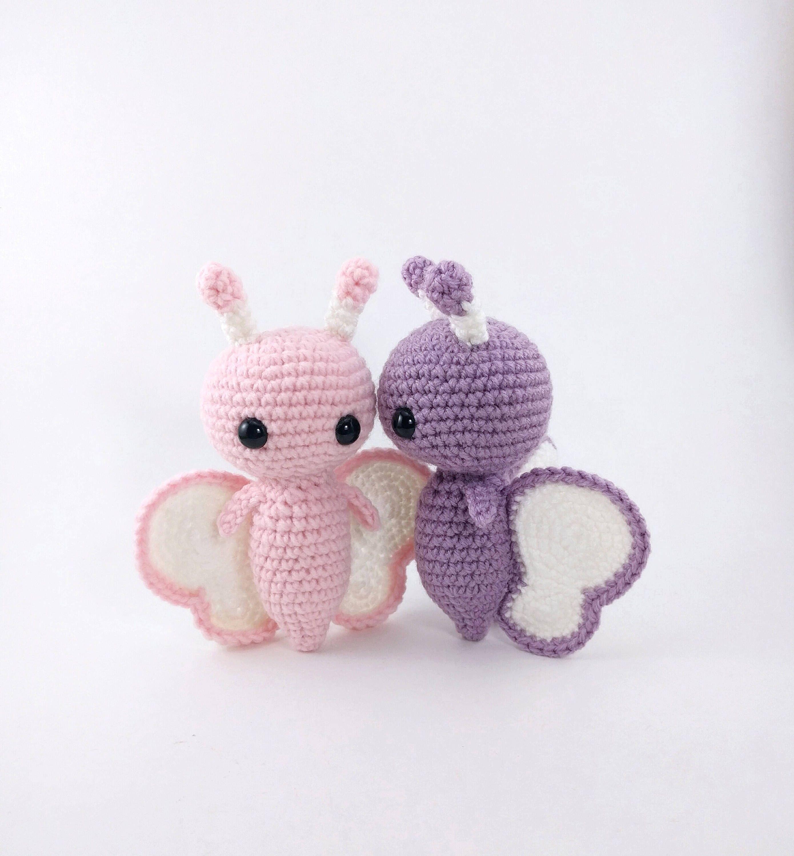 Crochet Butterfly Pattern - Crochet 365 Knit Too | 3000x2780