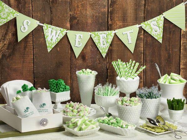 Nicht nur zur Hochzeit ein Highlight: Die Candy Bar