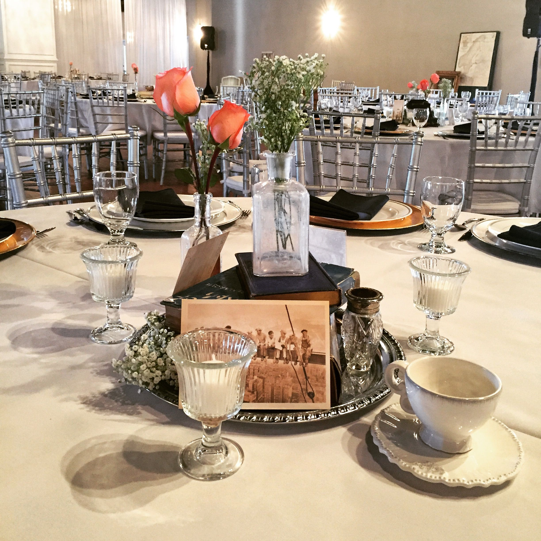 Vintage Table Set Up | Vintage Wedding Reception | Stratton Hall Venue | Chattanooga TN & Vintage Table Set Up | Vintage Wedding Reception | Stratton Hall ...