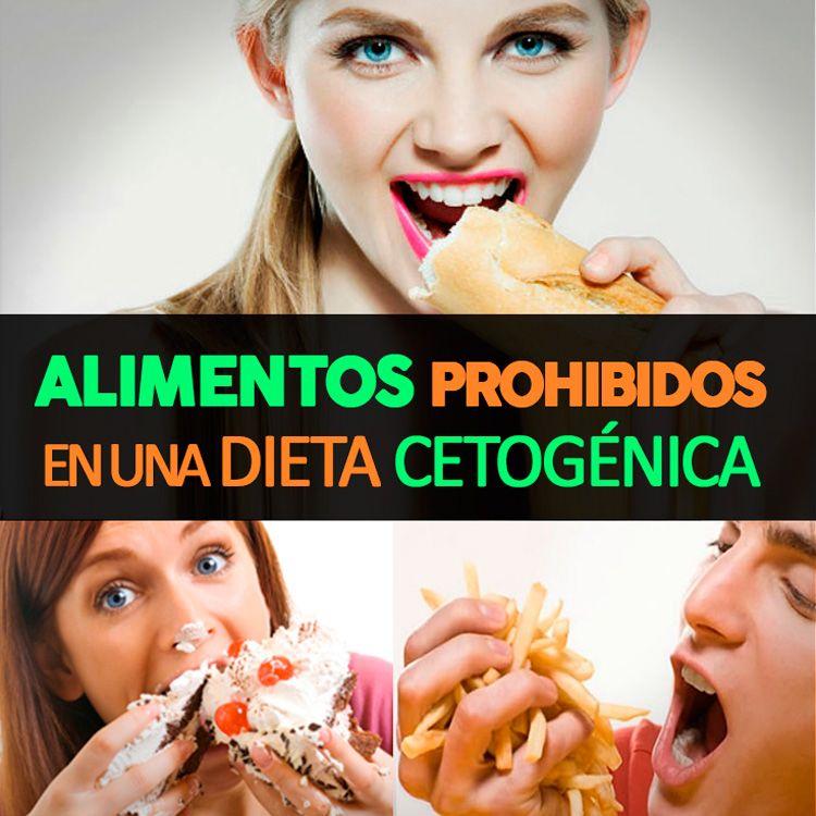 Comidas prohibidas en dieta keto