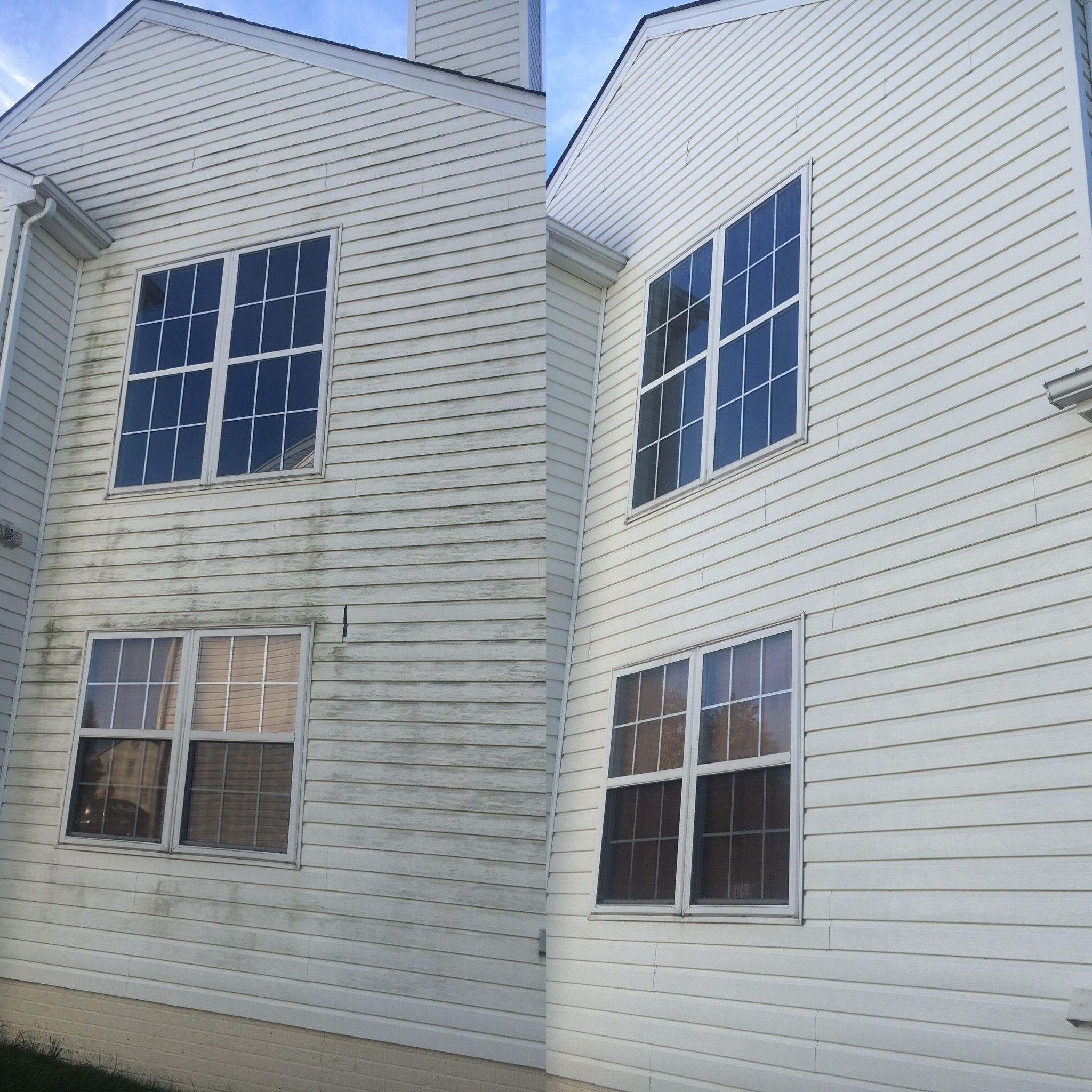 House Low Pressure Wash Siding Power Washed Contact Us For Any