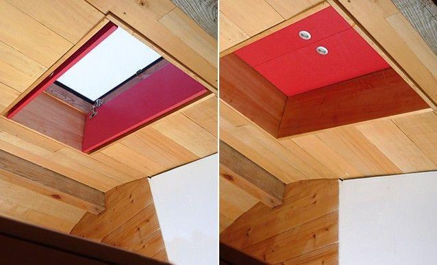 Fabriquer des volets intérieurs pour fenêtres de toit Divider