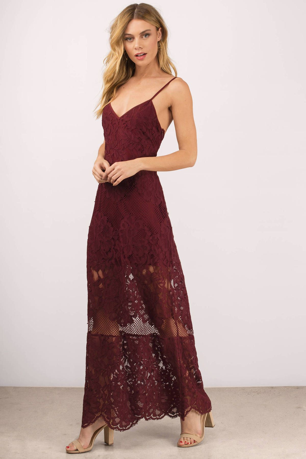 Relax with the wanderlust lace maxi dress featuring a scalloped relax with the wanderlust lace maxi dress featuring a scalloped hem pair with casual ombrellifo Gallery