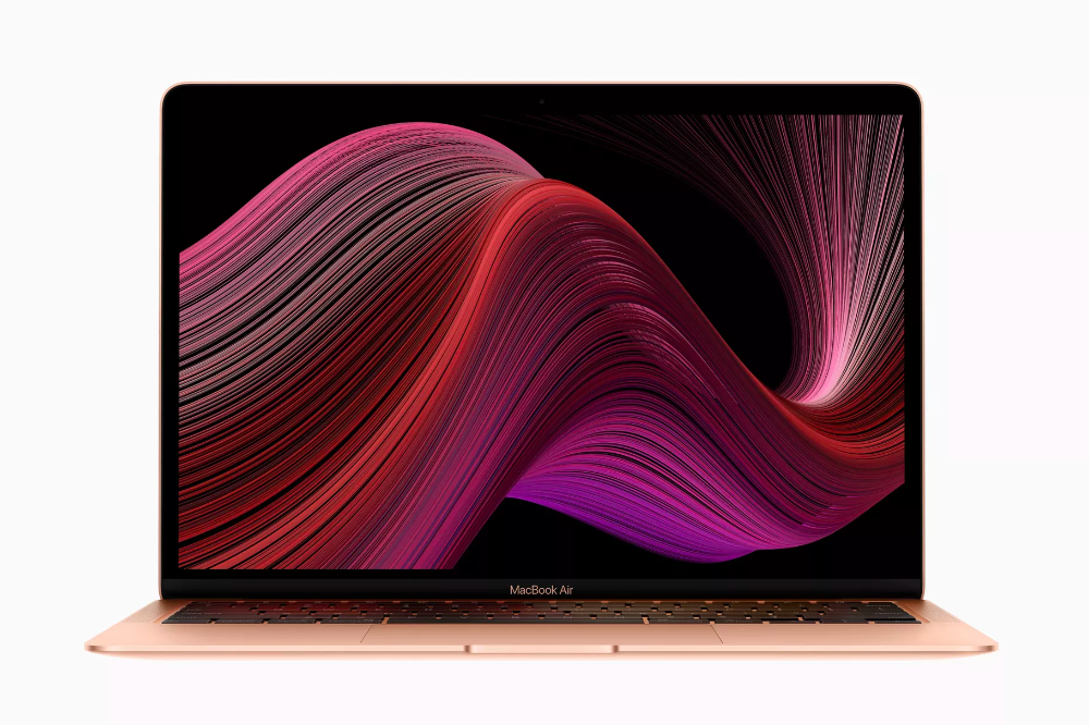 Apple Announces New Macbook Air With Improved Keyboard Faster Performance And More Storage New Macbook Air Apple Macbook Macbook Air