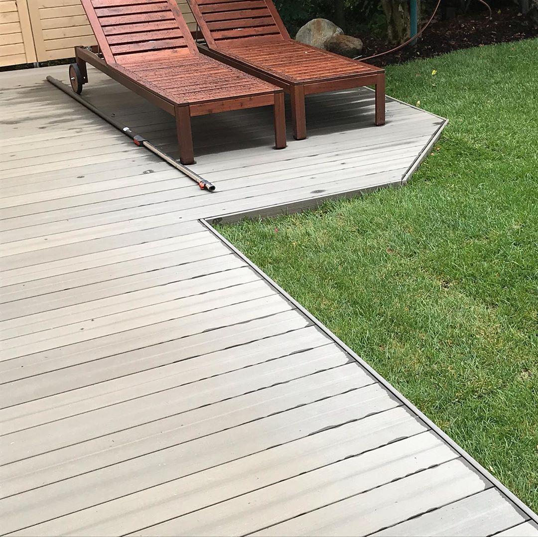Unser Fertiges Projekt 65m2 Qm Rollrasen Und 52m2 Qm Wpc Megawood Com Signum Tonka 145mm Vollprofildielen Und Sich Garten Design Gartenbau Gartengestaltung