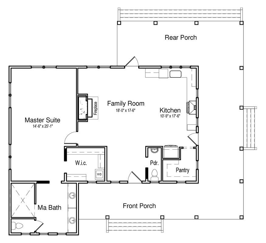Bohicket Creek In 2020 With Images House Plans Tiny House Floor Plans Contemporary House Plans