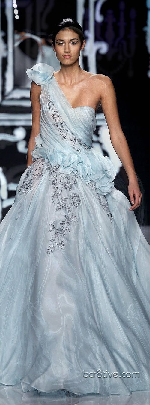 www.2locos.com  Abed Mahfouz Couture Spring Summer 2012-13