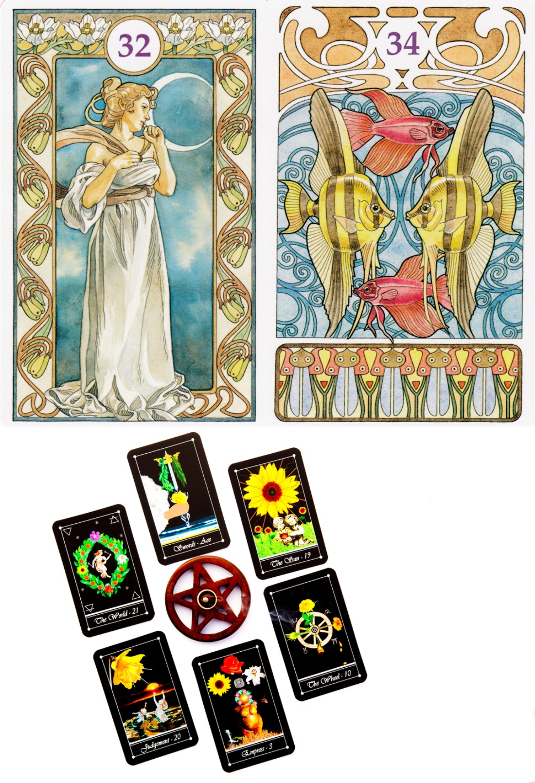 lenormand 9 card spread, lenormand cards and mystical