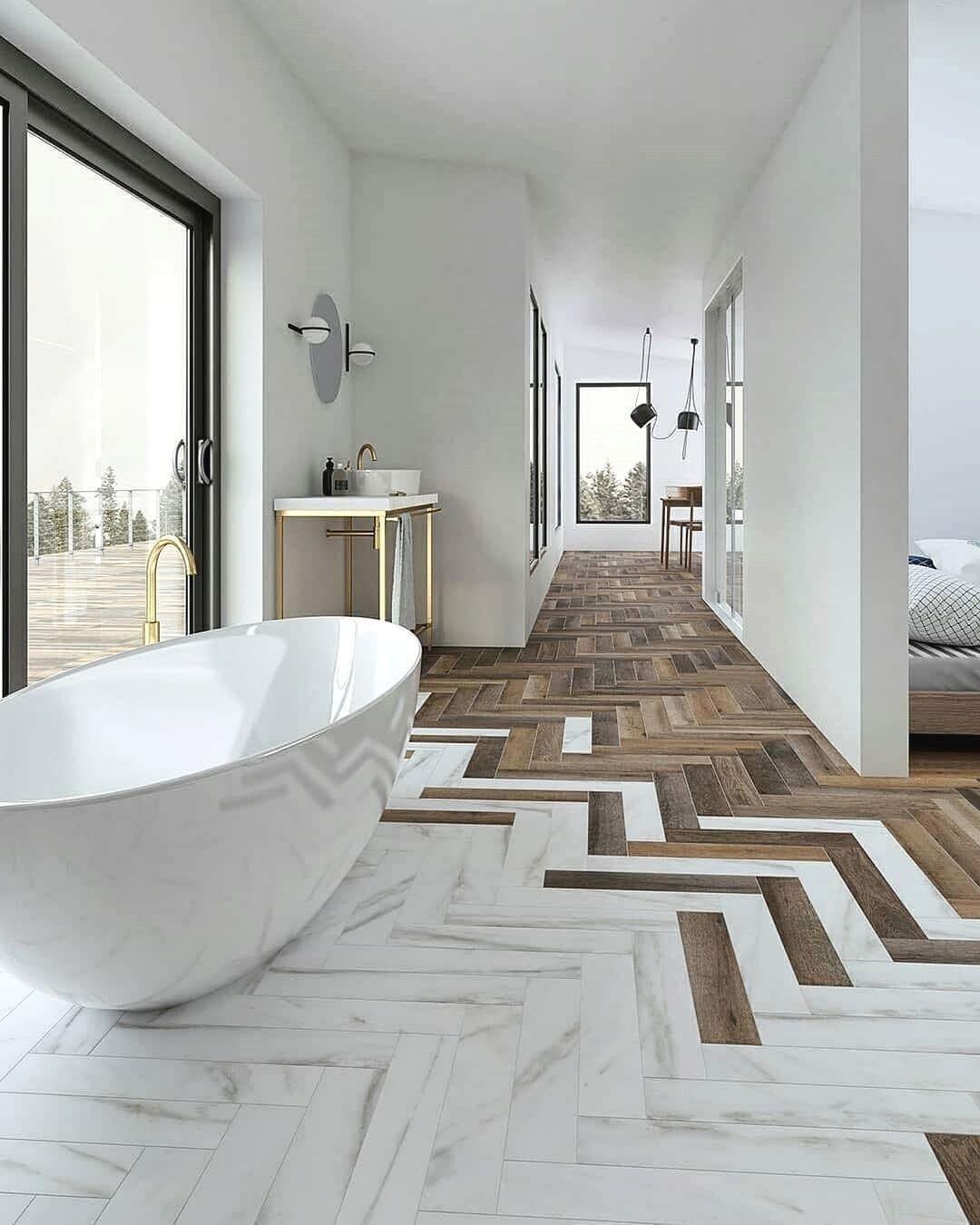 Co Myslicie O Takiej Aranzacji Bologna Italy Obserwuj Pelna Pomyslow Interi Modern White Bathroom Modern Bathroom Design Minimalism Interior