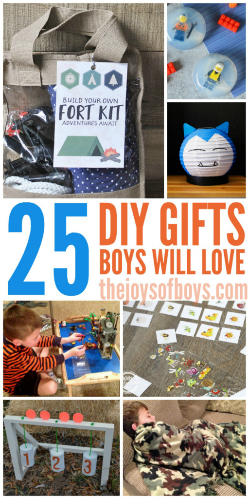 Photo of 25 Homemade Gifts Boys Will Love | Gift Ideas for Boys