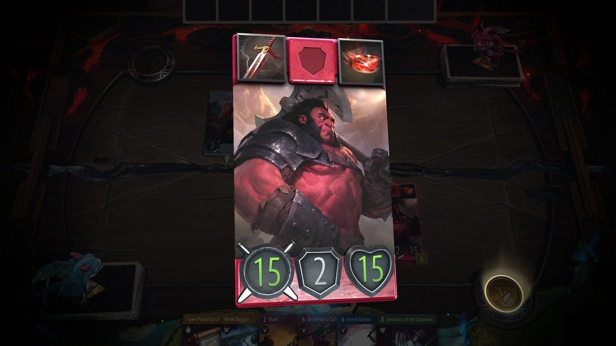 Everything We Know About Valve S Artifact Card Game So Far Card
