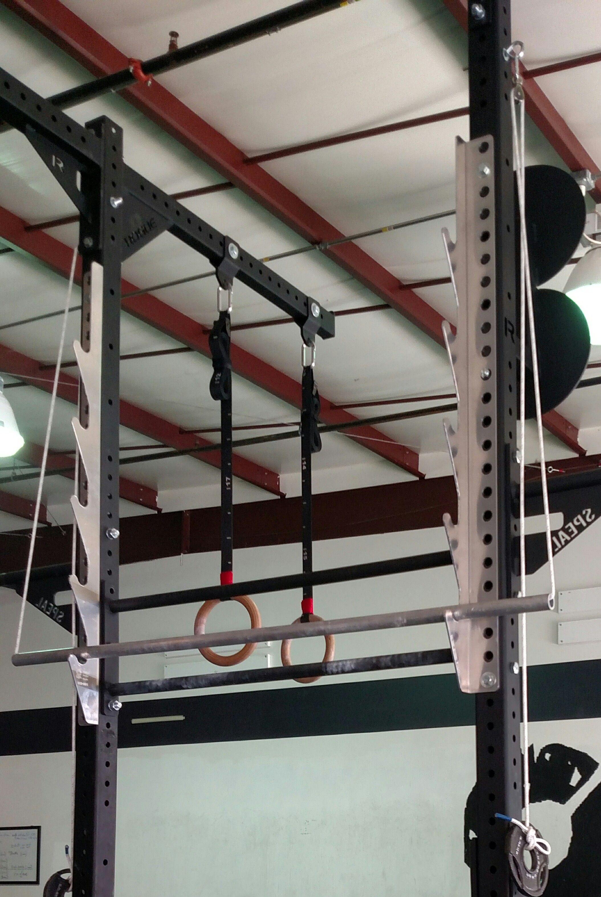 Aluminum salmon ladder pole ninja sports products ladder indoor