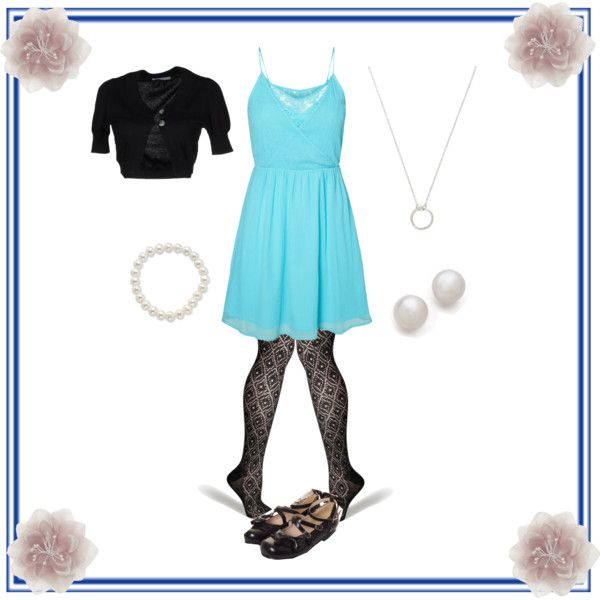 """""""OOTD #5"""" by snowshi on Polyvore #IceCarats http://www.icecarats.com/Sterling-Silver-55.5Mm-7.5-Inch-Freshwater-Cultured-Pearl-Stretch-Bracelet-132114.aspx"""